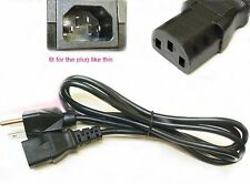 5ft Replacement 3-Prong AC Power Cable Cord for Panasonic LCD Plasma TV 10A 250v