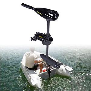 Neu 58LBS Elektromotor Bootsmotor Trolling Motor Schlauchboot Elektromotore DHL
