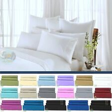 4 Piece Bed Sheet Set Deep Pocket Sheets Egyptian Comfort 1800 Count Ultimate
