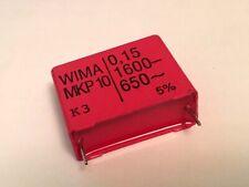 WIMA  MKP10  100nf  0,1uF  630VDC  400VAC  RM15  NEW  #BP 10 pcs