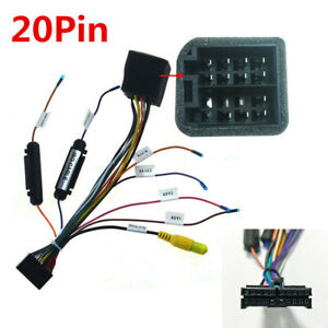 car stereo wiring harness adapter for vw    car    auto    stereo    20pin iso    wiring       harness    connector    adapter        car    auto    stereo    20pin iso    wiring       harness    connector    adapter