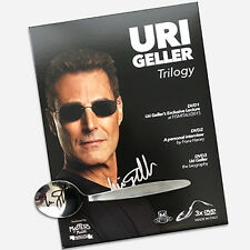 Uri Geller Trilogy (Signed Spoon & Box 3 DVD Set) by Masters of Magic