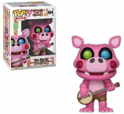 Pigpatch Funko POP GAMES Five Nights at Freddys Pizza Simulator