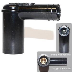 1x-CASQUILLOS-BUJIA-Conector-Adaptadores-Ajuste-Tornillo-en-Ht-Cable-con-5k