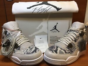 12 Pinnacle 5 Nike Ds Air 819139 Iv Premium snakeskin Jordan 030 Retro 4 o Tama wYw7O
