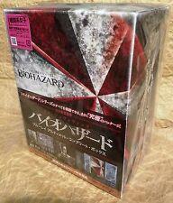 RESIDENT EVIL 1-6 BIOHAZARD Ultimate Complete Box Set Blu-Ray 3D+2D JAPAN Ltd Ed