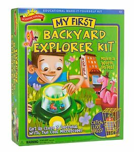 Scientific-Explorer-Backyard-Science-Project-Lab-Kit-Ages-4-New-Toy-Fun-Play