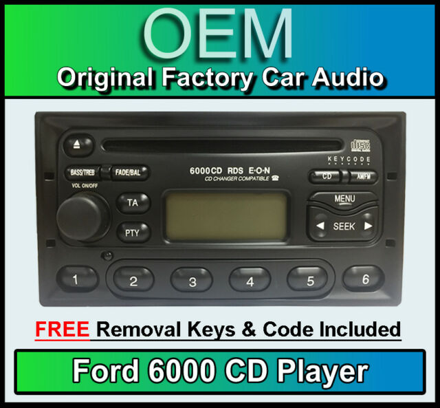 Ford 6000 Cd Radio S Max Mondeo Focus Mk4 Galaxy Transit Mp3 Rhebaycouk: Ford Mondeo Radio Code Free At Gmaili.net