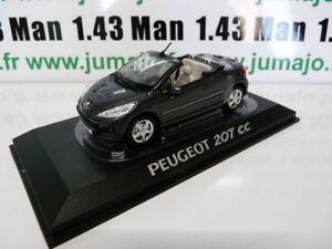 PE17H-VOITURE-1-43-NOREV-PEUGEOT-207-CC-cabriolet