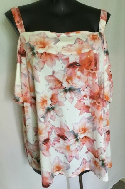 AUTOGRAPH FLORAL PEACH COLOURS
