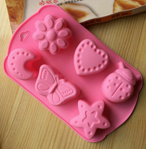 Silicone Cupcake Mold Candy  Chocolate Muffin Cake  Baking Mould Pan Tools
