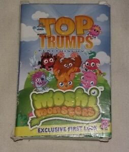 Alerte Top Emporte Sur Moshi Monsters Promotionnel Exclusif Cartes 2012 Set Complet Excellent-afficher Le Titre D'origine
