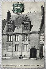 """CPA """" MONTOIRE SUR LE LOIR - Maison Renaissance"""