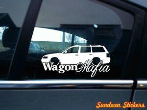 Wagon Mafia Auto Sticker Aufkleber For Vw Passat B5