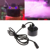 12 LED light Ultrasonic Mist Maker Fogger Water Fountain Pond Indoor Outdoor Hot