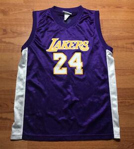 NBA Brand Kobe Bryant youth size XL jersey purple #24 Lakers ...