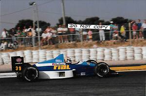 9x6-Photograph-Volker-Wiedler-F1-Rial-ARC2-French-GP-Paul-Ricard-1989