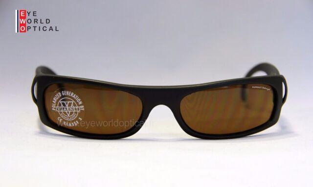 VUARNET 102 Black Matte Sunglasses Polarized Lens