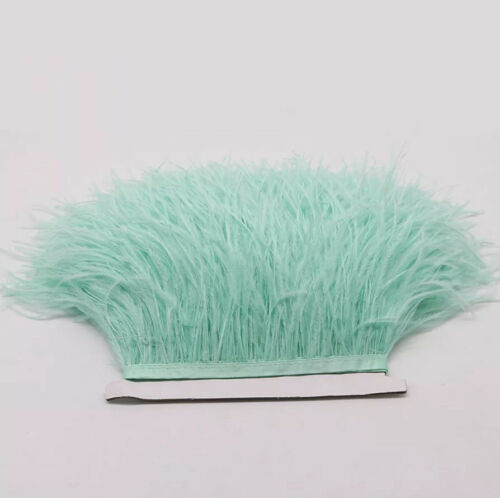 Ostrich Coque Feather Millinery Fascinator Shoulder Head Craft Earring Fringe