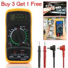 Digital Voltmeter Ammeter Ohmmeter Multimeter Volt Ac Dc Tester Meter Detectors