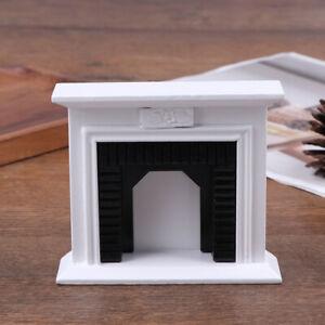 1-12-Dollhouse-Miniature-Wooden-White-Fireplace-Dollhouse-Furniture-Mod-P-qd