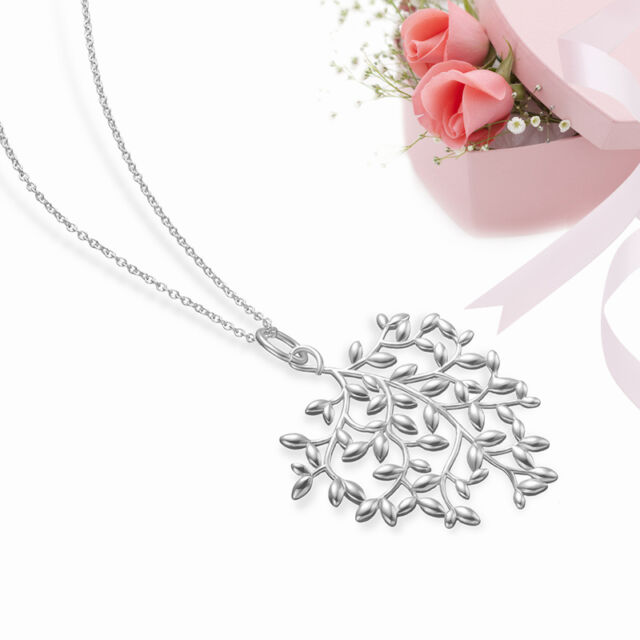 Hot Wholesale Women/Men Fashion 925Solid Silver Necklace +Gift Box Free Shipping