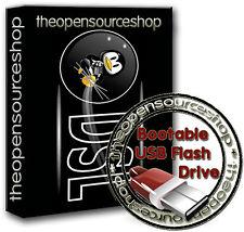 Damn Small Linux 4.4.10 128GB USB 3.0 Live Bootable Startup FLASH DRIVE PLUG nGO