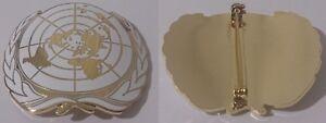 insigne-de-beret-ONU-O-N-U-Organisation-des-Nations-unies-United-Nations