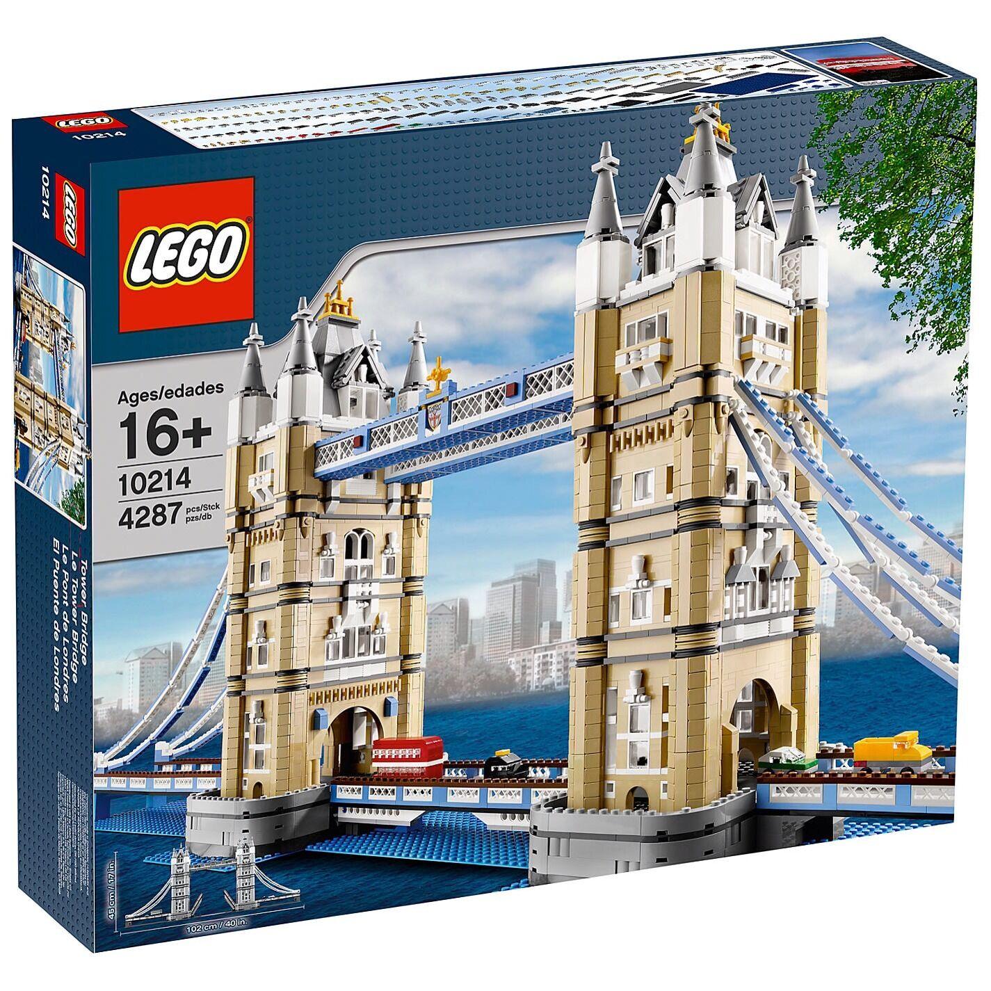 LEGO CREATOR TOWER BRIDGE 10214 - - - (New sealed) LONDON SET 4287 Pieces Land Mark 28df7a