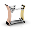 Fashion-Women-Men-925-Silver-Three-Tone-Gold-White-Topaz-Ring-Band-Wedding-Gift thumbnail 9