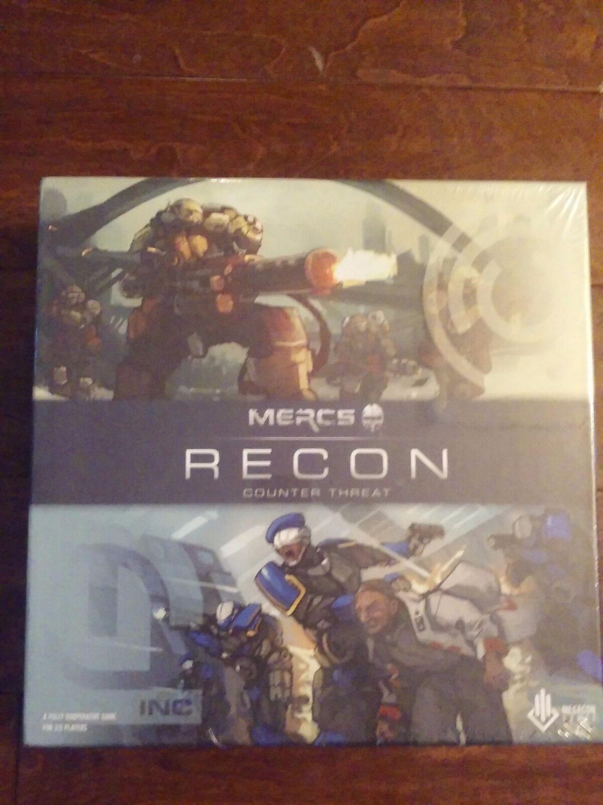 nuovo MERCS Recon - Counter Threat  tavola gioco FACTORY SEALED  marche online vendita a basso costo