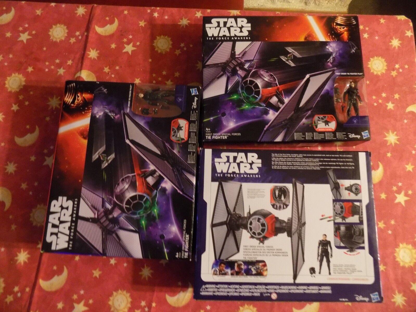 Star Wars Cadeau Noel NEUF Soldé Moitié Moitié Moitié Prix TIE FIGHTER + PILOTE star wars NEUF ab239a