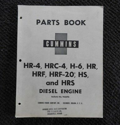1956 Cummins Hr-4 Hrc-4 H-6 Hr / Home Barfach / Edelstahllook Hrf-20 Hs Feines Handwerk