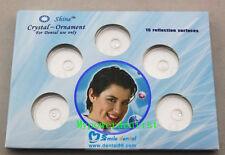 2box Dental Oral Teeth Diamond Tooth Gems Crystal Ornaments Jewelry 20mm Clear