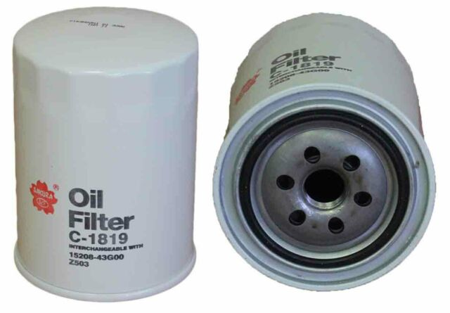 Sakura C-1819 Spin-On Oil Filter Equiv. to Ryco Z503