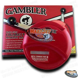 GAMBLER King Regular 84mm Cigarette Maker Roller Rolling Making Injector Machine