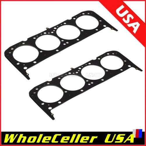 2pcs Multi Layer Steel Head Gaskets 4.065 in.for SBC Small Block ...