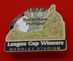 Danbury-Pin-Badge-Tottenham-Hotspur-Football-Club-Norwich-League-Cup-Winner-1973