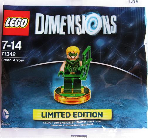 Lego verde Arrow Lego Dimensions PolyBorsa 71341 DC SuperHeroes 6164303
