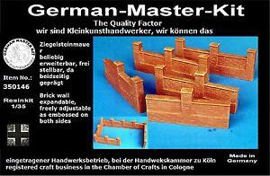 Diorama-Zubehoer-Resin-Kit-Mauern-Varianten-I-1-35-GMK-World-War-II