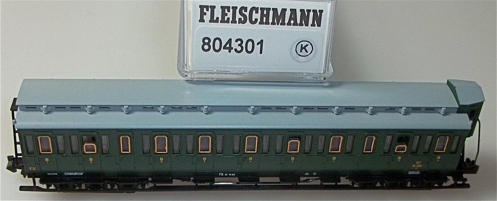 FS Carrozza con Scompartimenti 3  Cl. Fleischmann 804301 K 1/160 N