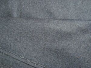 2-5-yd-Luxury-WOOL-Cashmere-Flannel-FABRIC-10-oz-SUITING-Navy-Blue-60-034-x-90-034-BTP