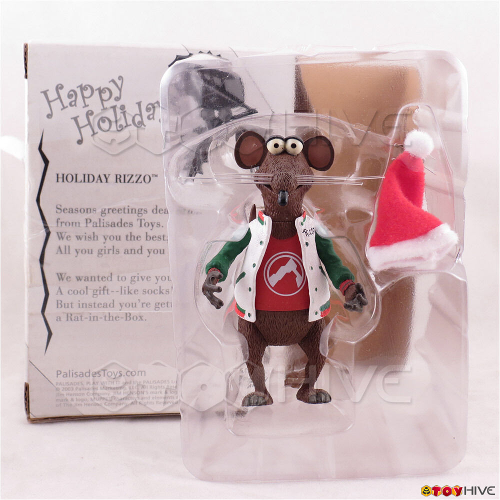 Muppets Urlaub Rizzo the Rat in rot shirt - 2003 Palisades Spielzeug Collectors Verein