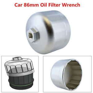 Details about 86mm Oil Filter For BMW Volvo Wrench Filter Housing Caps  Remover Tool Trig