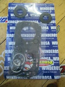 Winderosa 811319 Gasket Kit with Oil Seals