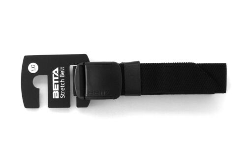 BETTA 1.5 Inch Wide Men/'s Elastic Stretch Belt with Adjustable Buckle