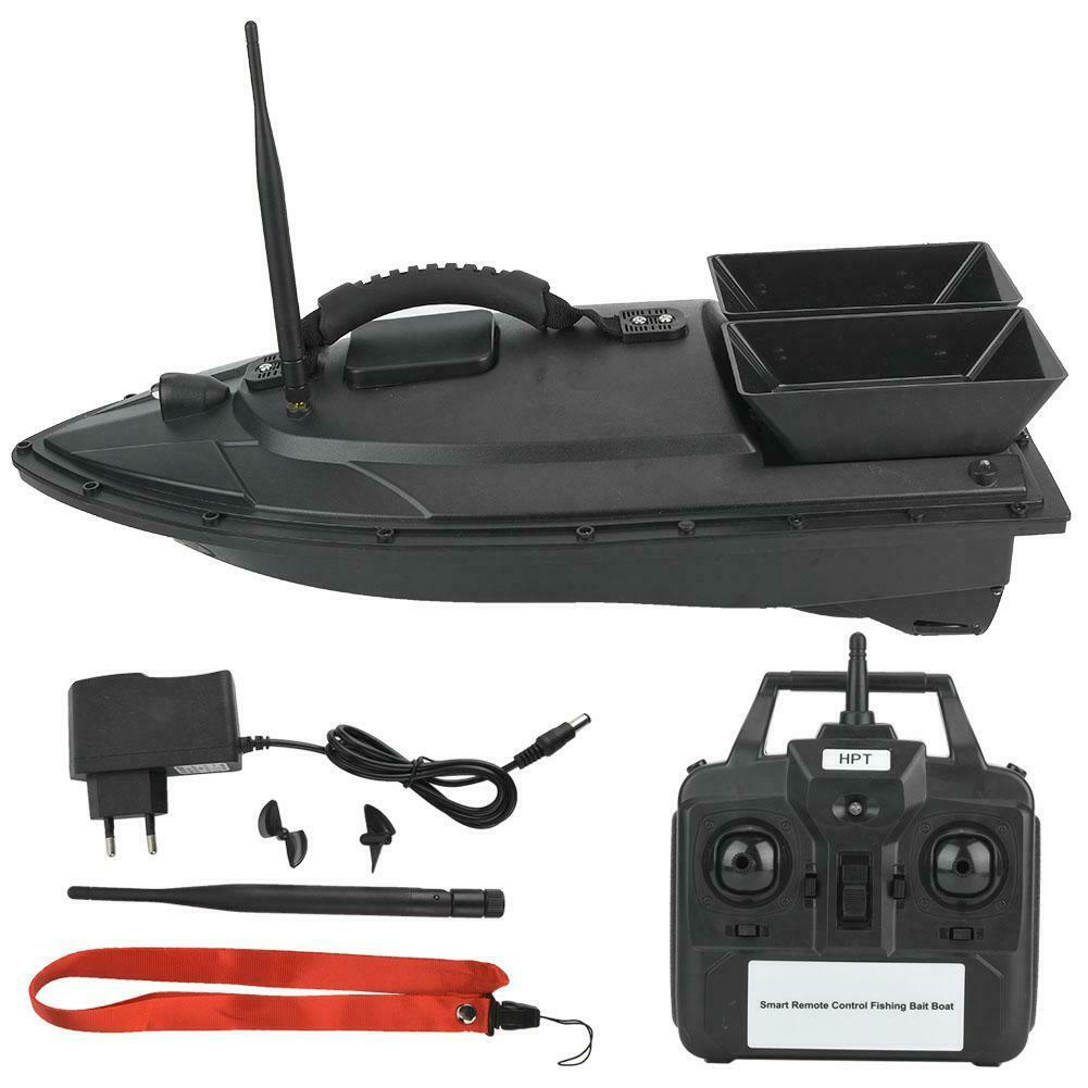 500M Wireless Remote Control Ship RC Speedboat Smart Fishing Bait Boat EU Plug