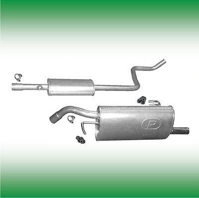 Mittelschalldämpfer Smart Forfour 1.1 1.3 Auspuff Mitteltopf Montagesatz 454