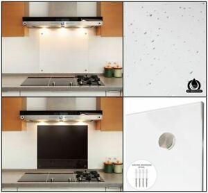 Esg 6mm Kuchenruckwand Glas Schwarz Spritzschutz Kuche Ruckwand Wandschutz Ebay
