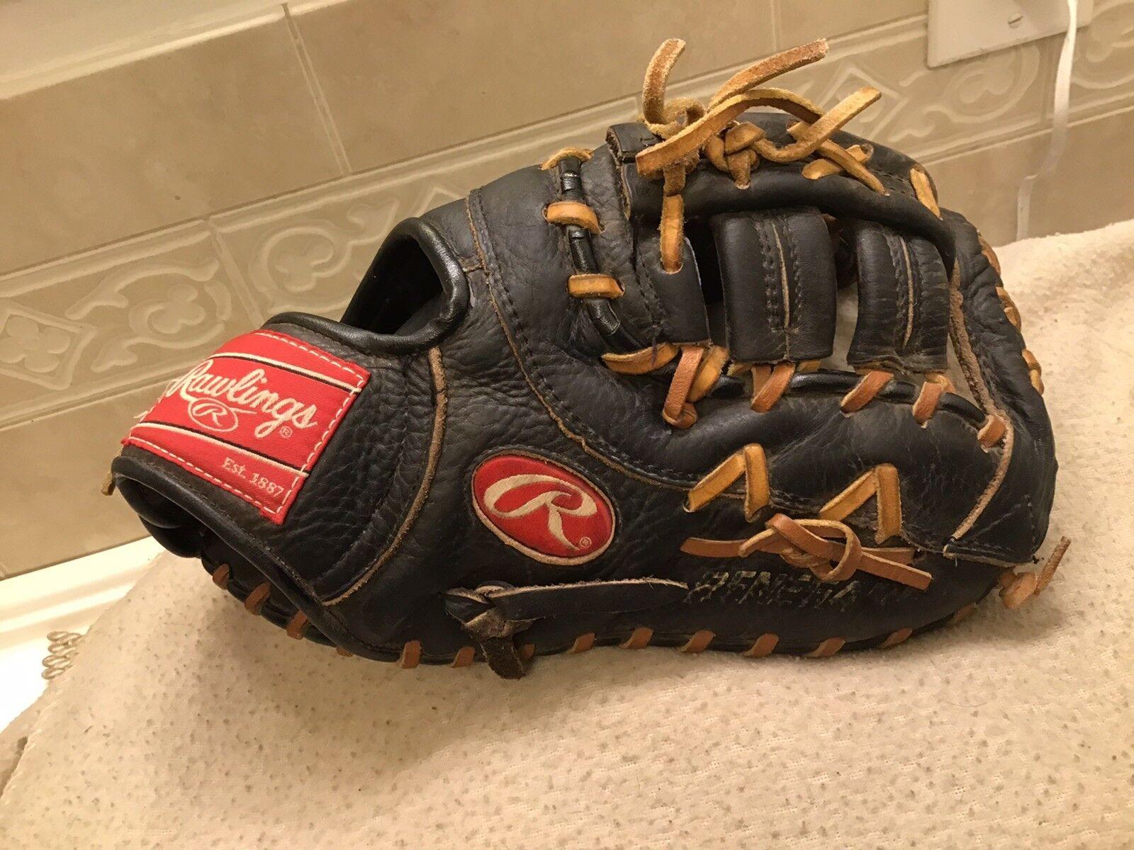 "Rawlings 12"" Youth Renegade Baseball First First Baseball Base Mitt Right Hand Throw 904866"